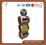 Customized Wooden Wine Display Stand for Retail