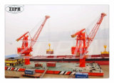 Fixed Gear Luffing Wharf Port Crane