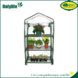 Onlylife 3-Tier Eco Friendly Waterproof Plastic PVC Garden Greenhouse