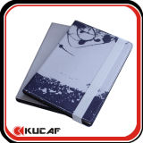 Custom 4c Printing A5 PU Leather Address Book Notebook