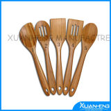 Bamboo BBQ Tongs with Fork and Spoon