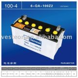Dry Charged Battery Car Battery