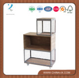 Double Wood and Wire Display Unit