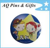 Memorial Custom-Made Tin Button with Printing Logo (button badge-04)