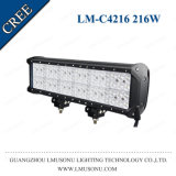 Lmusonu China Supplier Spot Flood Combo Offroad LED Light Bar 216W 20 Inch Dual Row Waterproof IP67