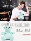 2017 Newest Fashionable Christmas Gift Music Mini Bluetooth Speaker Bear Doll Bluetooth Speaker for Girls/Kids