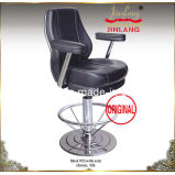 Leather Chair (JL952) Chrome Footrest With Blk Color, Armrest