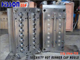 16 Cavity 3G PE Bottle Cap Molds Hot Runner