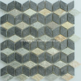 Honed Mix Stone Mosaic Tile for Outdoor Wall / Tile