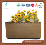 Wooden Flower Shelf with 16 Holes for Shops