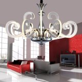 Fashionable White Swan Shape LED Candle Wall Mounted Chandelier