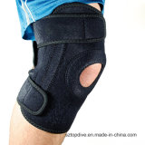 Neoprene and Silicone Pad Half-Opening Knee Brace, Knee Support