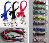 Color Nylon 3 Size Double-Headed Pet Leash Lead for 2 Dogs