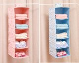 6 Compartment Fabric Closet Hanging Shoe Organizer Shoe Racks Organizer