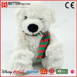 E N71 Soft Plush Toys Stuffed Animal Teddy Bear in Scarf