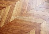 African Rosewood Padauk Engineered Chevron Parquet Flooring