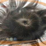 Lace Front PU Back Men′s Toupee (PPG-l-0895)