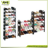 Home Organizers Holders Removable Cheap 2 Layer Black Imple Designs Shoe Storage Rack