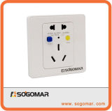 Dk-16A White Wall Mount Switch Outlet for Circuit Beaker