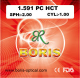 1.591 Polycarbonate Lens PC Single Vision Hct Optical Lenses