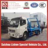 New Garbage Truck Dongfeng Swing Arm Garbage Truck Arm Roll 6 M3 Waste Truck Rubbish Collector