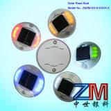 Colorful LED Flashing Road Marker / Solar-Powered Road Stud / Cat Eye