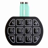 16 Embossed Metal Dome Buttons Membrane Switch Keypad
