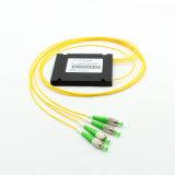 ABS Cassette Type 1*3 Fiber Optic PLC Splitter