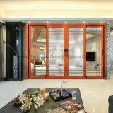Aluminum Sliding Door Hollow Toughened Glass for Residential Room (FT-D190)