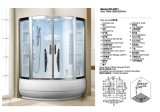 New Design Enclosed Corner Steam Room Shower Room (D531)
