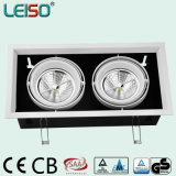 Two Head Light Fixture LED Spotlight AR111