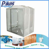 Factory 2015 New High Quality Acrylic Home Made One Person Steam Room/Indoor Steam Room