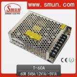 60W Triple Switch Mode Power Supply 5V8a/12V1a/-5V1a