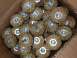 Steel Wire/Brass Wire Wheel Brush for Grinding Sawing Machine