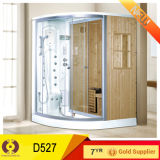 Sanitary Ware Bathroom Hardwood Sauna Room Shower Room (D527)