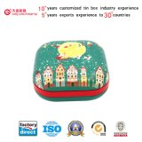 Square Shaped Food Tin Box for Gift Packaging (S001-V9)
