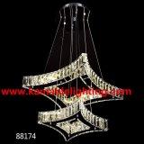 Double-Deck Square Crystal LED Lights (Kam88174)
