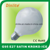 G95- 40W 60W 100W Kroko-Ice Satin Incandescent Bulb