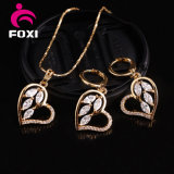 Fashion Hot Sale Heart Shape Design Jewelry Sets for Women Party Gift
