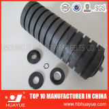 Industrial Cema Rubber Ring Casting Impact Conveyor Idler Roller
