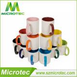 11oz Sublimation Inner & Handle Color Coated Ceramic Coffee Mug (MT-B002H)