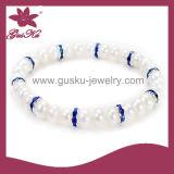 Unique White Pearl Bracelet (2015 Plb-027)