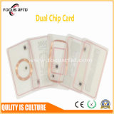 High Performance Dual Frequency Card with MIFARE and UHF Chip