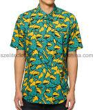 Sublimation Printed Polyester Leisure Shirts (ELTDSJ-402)