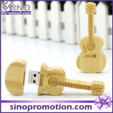 Wholesale Miniature Wooden Guitar USB Flash Drive 8GB