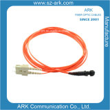 Sc-MTRJ Siglemode Duplex 3.0mm Fiber Optic Patchcord