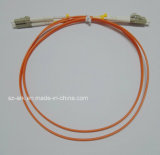 Fiber Optic Cable with Duplex LC-LC Connectors (1M)