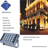 18W RGBW Outdoor LED Wash Light LED Projector for Building