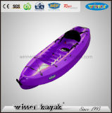 Plastic Single Sit on Top Recreational Kayak