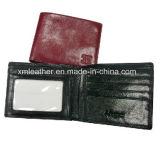 Custom Leather Men′s Money Clip Wallet